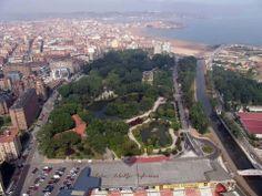 Parque Isabel la Católica vía Gijóndesdeelaire