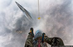 84 Illegal Photographs That Urban Climbers Risked Their Lives To Take: Tallest Building in China: The Shanghai Tower