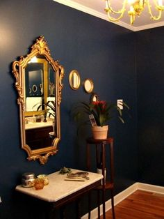 Awesome site that shows paint colors (and their names) in real rooms !