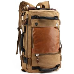 Men's Polyester Backpack for Travel Multifunctional