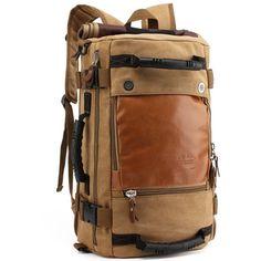 Men's Polyester Backpack for Travel Multifunctional