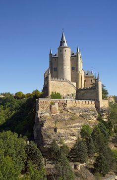 El Alcázar de Segovia, Segovia, Castilla y León, Spain