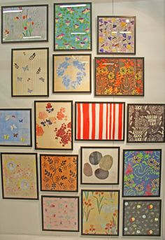 artwork of French engraver and textile designer Paule Marrot. Her digitally reproduced designs from the 1970′s love this artwork