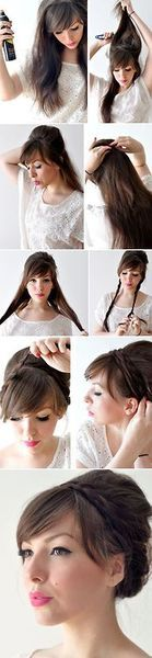Easy dressy hair look