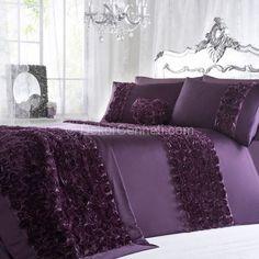 mor yatak örtüsü modelleri