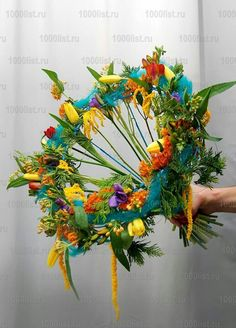 .Interesting bouquet