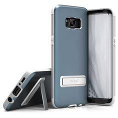 Samsung Galaxy S8 Case Zizo [Elite Series] w/ [Samsung Galaxy S8 Screen Protector] Shockproof Protection w/ Built-in [Magnetic Kickstand]- Galaxy S8