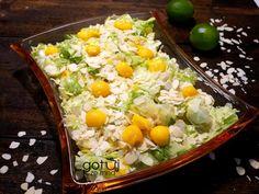 Zdrowa sałatka – gotuj-ze-mna-blog Cobb Salad, Mango, Blog, Manga, Blogging