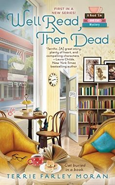 Taking a break from peddling tea and paperbacks at their bookstore café, Sassy and Bridgy set out to solve the murder of a beloved local senior. A delightful Gulf Coast mystery with wry humor and delicious pastries galore!