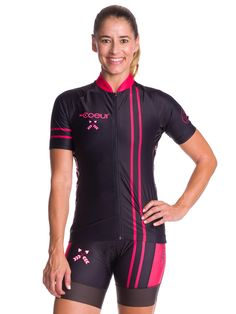 ef9defdad Women s Cycling Jersey in Courage  17 Cycling Shorts