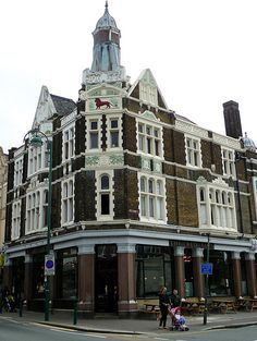 One of my favourite pubs. Cycling In London, London History, Beer Garden, Garden Photos, East London, Lion, To Go, Street View, Grandmothers