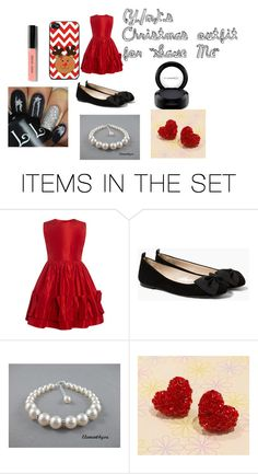 """""""(Y/n)'s Christmas outfit for Save Me"""" by bgkitten ❤ liked on Polyvore featuring art"""