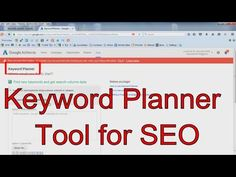 How to Use the Google Keyword Planner Tool for SEO in Hindi