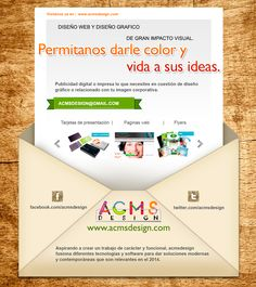 Diseño web adaptativo! visitenos en www.acmsdesign.com y averigue mas! Map, Business Cards, Design Web, Location Map, Maps
