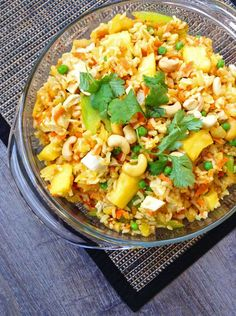 Pineapple Fried Brown Rice   Healthy Ideas for Kids