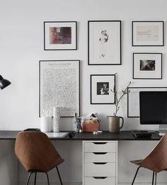Workspace for two - via Coco Lapine Design | @juliaalena