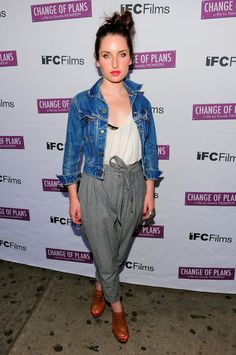 "Zoe Lister Jones - ""Change Of Plans"" New York Premiere"
