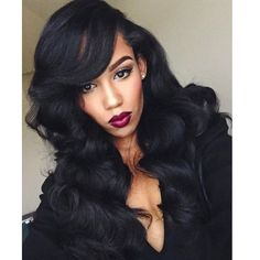 | HAIRSPIRATION | Love this sultry #TBT look on #MUA @Roccastillo❤️ She is channeling old hollywood glam GORG #VoiceOfHair ___________________________________ Find more GLAM looks in our eBook! Visit VoiceOfHair.com