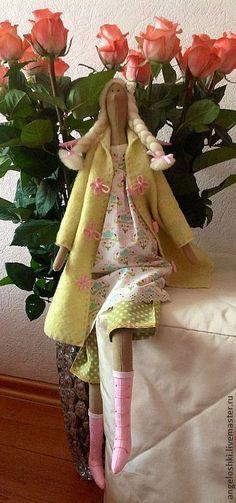 Куклы Тильды ручной работы. Ярмарка Мастеров - ручная работа. Купить Весенний ангел. Handmade. Весенний ангел, подарок подруге