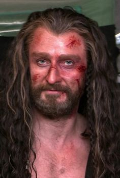 Richard Armitage - Thorin Oakenshield - behind the scenes