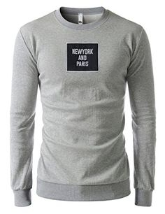 Showblanc (SBMZT69) Attractive Men Slim Figure Round Neck Urbane Sweatshirts GRAY US XS(Tag size L) Showblanc http://www.amazon.com/dp/B01BXX1ASI/ref=cm_sw_r_pi_dp_bT65wb0XKK4YJ