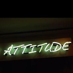 'Attitude' Neon... nice font