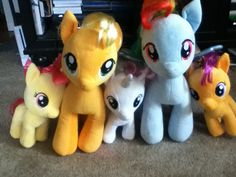 All my mlp babs