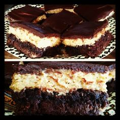Mounds Brownies Fudgy Chocolatey Brownies With A