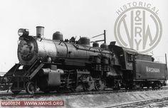 VGN Steam locomotive MB class #453 Roanoke, VA
