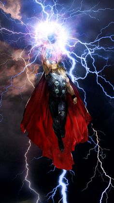 Waves are but water. Wind but air. And though lightning be fire...yet it must answer thunder's call. #Thor