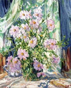 c. 1931 Still LIfe with Cosmos (Charles Reiffel)