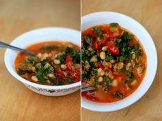 Veg quinoa soup
