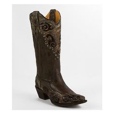 Corral Pieced Cowboy Boot ($290) ❤ liked on Polyvore