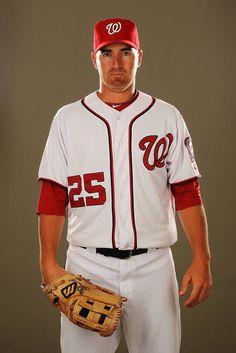 Think I am now a Baseball fan + Washington Nationals....  Adam Laroche