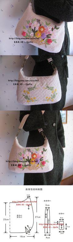 hobo bag pattern very nice.                                                                                                                                                                                 More