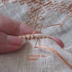 punto croce home Cross Stitch Embroidery, Embroidery Patterns, Hand Embroidery, Machine Embroidery, Sewing Patterns, Filet Crochet, Crochet Stitches, Needle Lace, Bargello