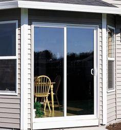 Style Line® Series vinyl patio doors -- Meek's Lumber & Hardware