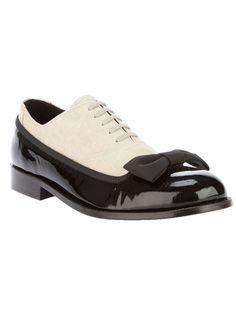 COMME des GARCONSTwo tone shoe