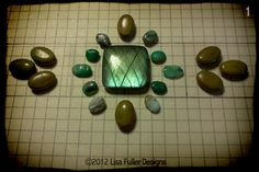 Lisa Fuller Designs: Bead Embroidery - From Concept to Adornment  also a very clear tutorial!