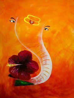 Clay Ganesha, Ganesha Art, Shri Ganesh, Hanuman, Ganesha Pictures, Ganesh Images, Om Gam Ganapataye Namaha, Poster Rangoli, Ganesh Chaturthi Decoration