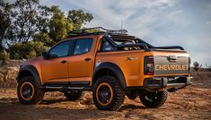 Chevrolet Colorado Xtreme Concept is a Tease