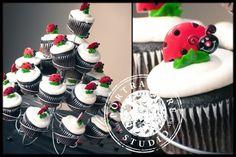 #LadyBugBirthday #Cupcakes #GirlsBirthdayParty #PartyDecorations #BirthdayParty #PartyPlanning #PartyIdeas