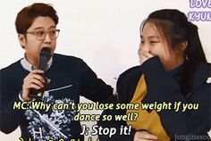 Jongin defending a chubby girl in a broadcast, respect kai | this is why i appreciate him so much, like boy!