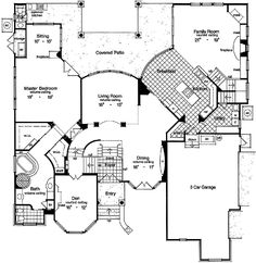 Grand Award Winner - 6338HD   1st Floor Master Suite, Butler Walk-in Pantry, CAD Available, Corner Lot, Den-Office-Library-Study, Jack & Jill Bath, Loft, Luxury, MBR Sitting Area, Multi Stairs to 2nd Floor, PDF, Photo Gallery, Premium Collection, Southern, Traditional   Architectural Designs