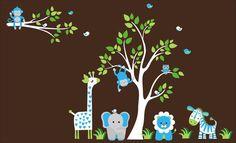Blue Nursery Decals Nursery Wall Decals by NurseryDecals4You. https://www.etsy.com/listing/268908538/blue-nursery-decals-nursery-wall-decals?ref=shop_home_active_11