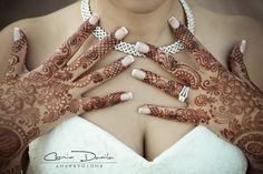 Stunning Stain for a beautiful bride!    Bridal mehndi--www.HennaArt.ca  Cosmin Danila - Edmonton Wedding Photography