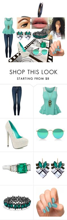 """""""Look#108"""" by allicefaleta ❤ liked on Polyvore featuring J Brand, TaylorSays, Nak Armstrong and BaubleBar"""