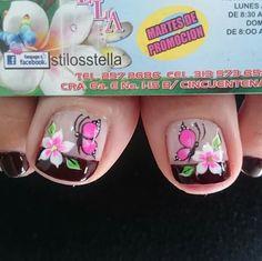 Toe Nail Art, Nail Nail, Toe Nails, Manicure Y Pedicure, Nail Art Designs, Diana, Nail Art, Finger Nails, Wood