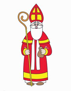 Bischof Nikolaus                                                                                                                                                                                 Mehr St Nicholas Day, Saint Nicolas, Preschool Printables, Ronald Mcdonald, Disney Characters, Fictional Characters, Saints, Creative, Crafts