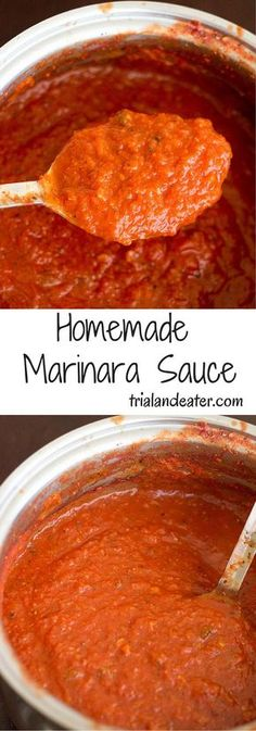 Homemade marinara sauce So easy, delicious and customizable, you won't want to buy store brand ever again! The post Homemade marinara sauce appeared first on Woman Casual - Food and drink New Recipes, Vegetarian Recipes, Cooking Recipes, Favorite Recipes, Healthy Recipes, Recipes Dinner, Vegetarian Cooking, Mexican Recipes, Cheap Recipes